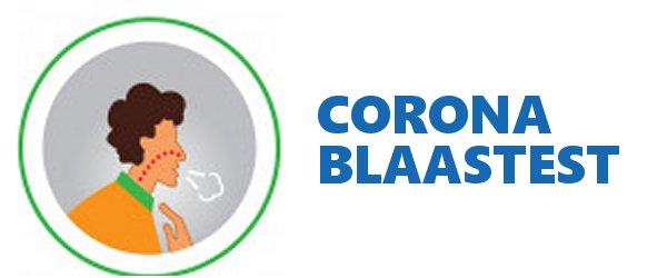 corona blaastest